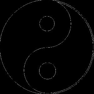yin und yang - Basis für Akupunkturtherapie